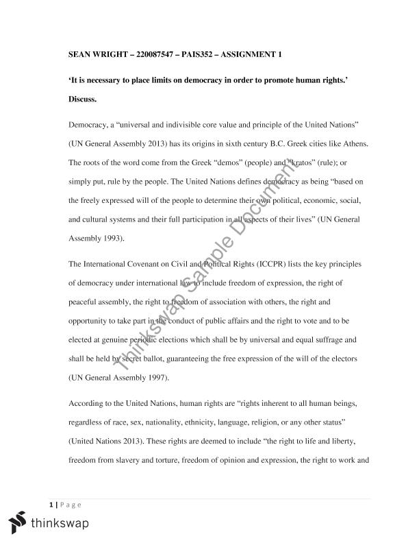 democracy and human rights essay pais international human democracy and human rights essay