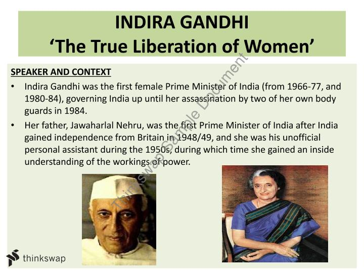 distinctive voices indira gandhi year hsc english  distinctive voices indira gandhi