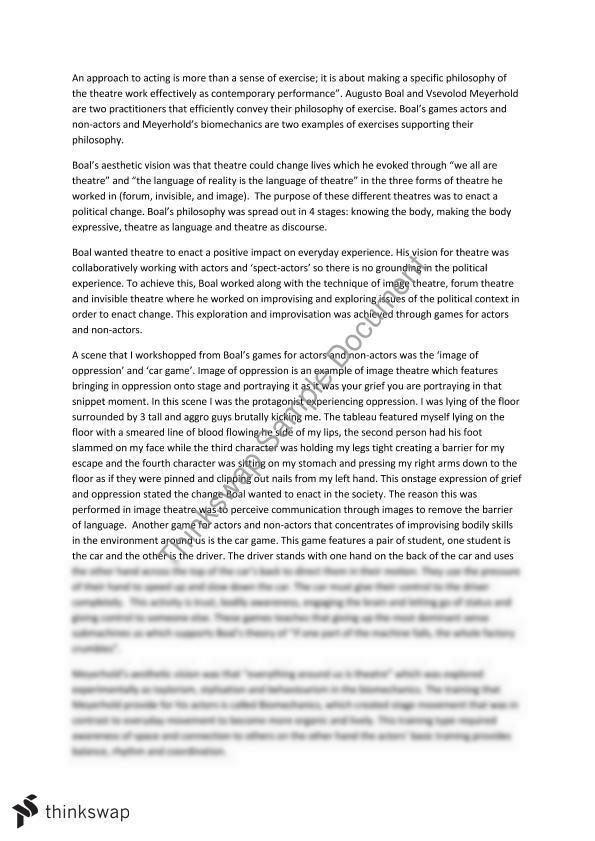 meyerhold and boal essay
