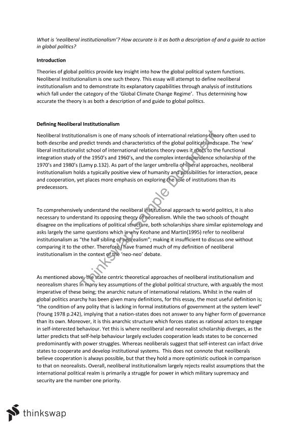 international relationspolitical science essay Our international relations & contemporary war ma offers you an opportunity to study  one 3,000 word long essay  international relations, political science,.