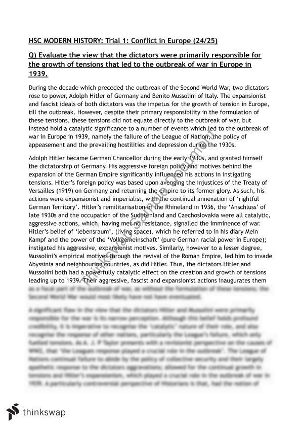 Research essay political science