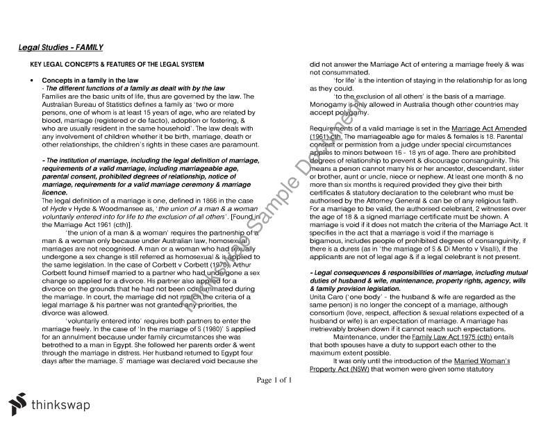 essay example marriage divorce cohabitation doc
