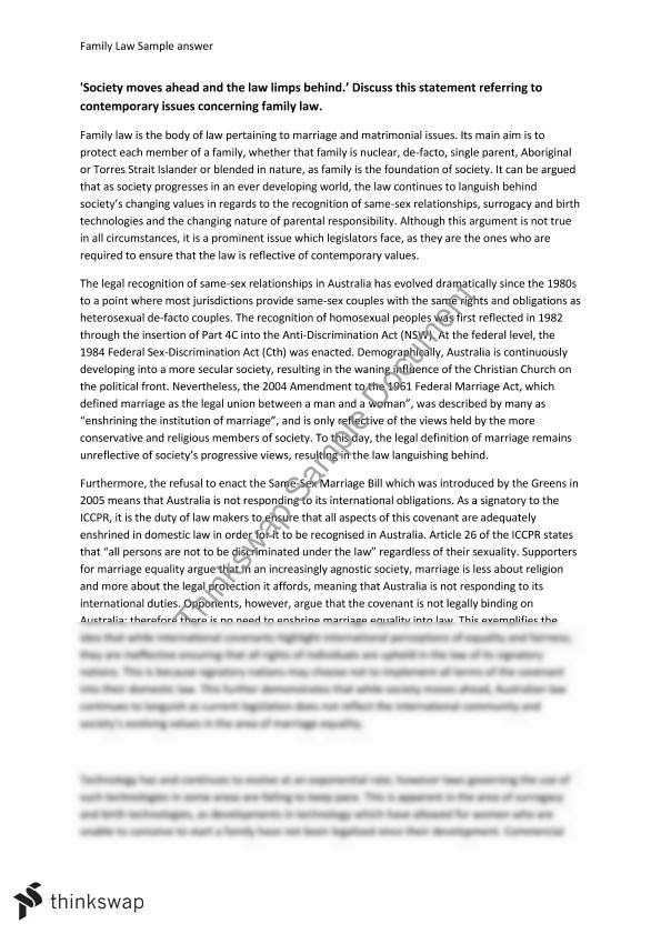 Hsc consumer law essays