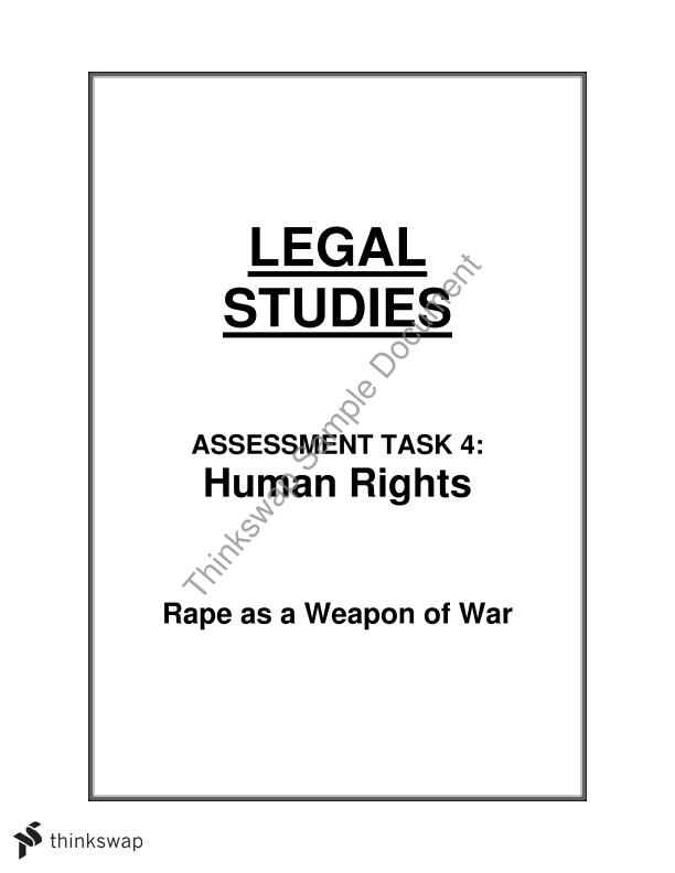 hsc human rights essay year hsc legal studies thinkswap hsc human rights essay