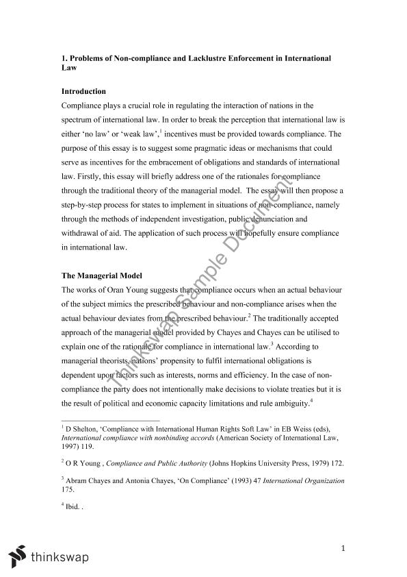 research essay on international law law international law research essay on international law