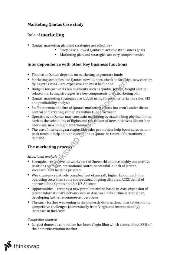 virgin australia marketing plan essay Marketing plan example: virgin atlantic little red - free download as pdf file (pdf) or read online for free.