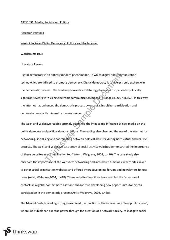 democracy essay for ba