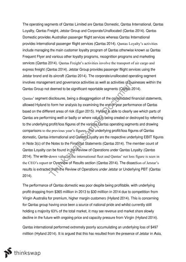 qantas business case study marketing Case study: qantas australia's first sustainable aviation fuel flight australia's first commercial flight powered by sustainable aviation fuel readies for takeoff on 13 april 2012, qantas airways operated australia's first commercial flight powered by sustainable aviation fuel.