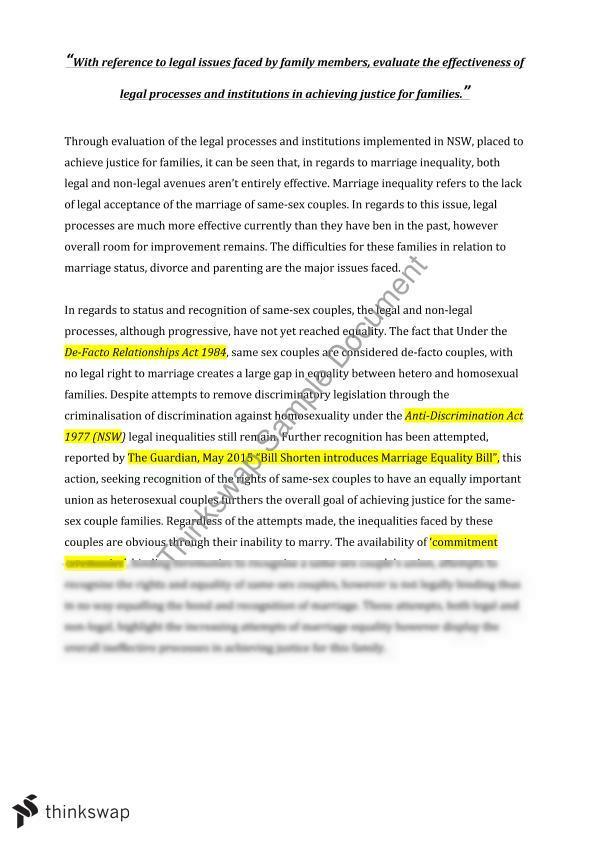 argumentative essay on gay marriage free