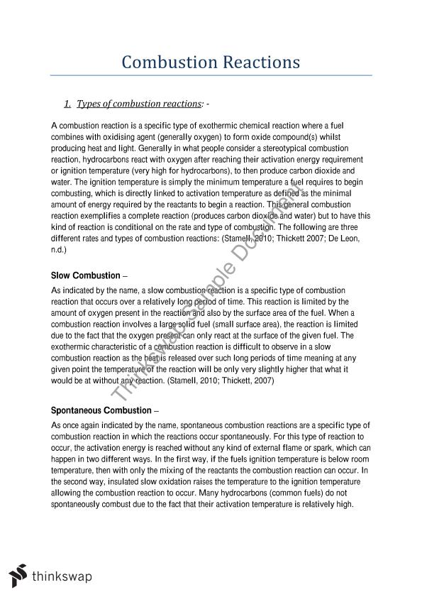 rate law and activation energy essay Thus, the rate constant (k) increases figure 3: lowering the activation energy of  a reaction by a.