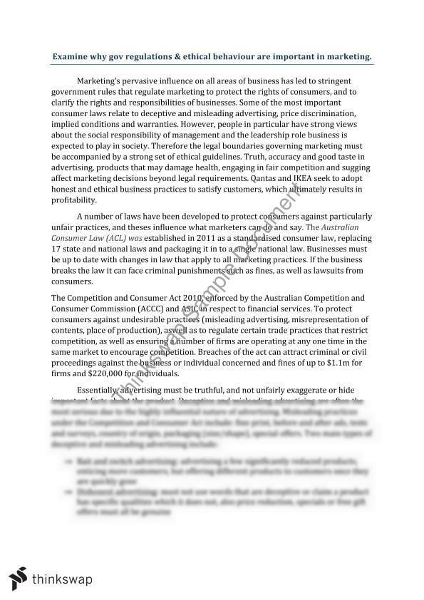 essay on good behaviour