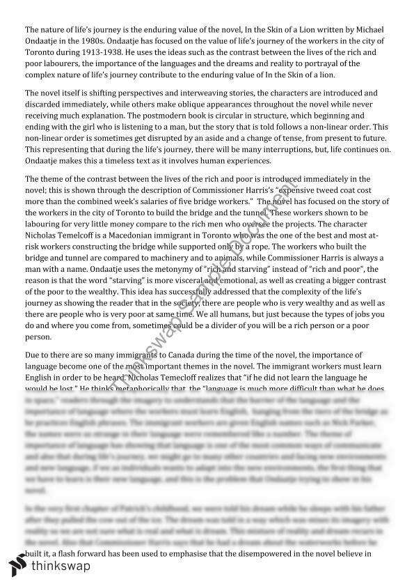 Hsc english advanced essays