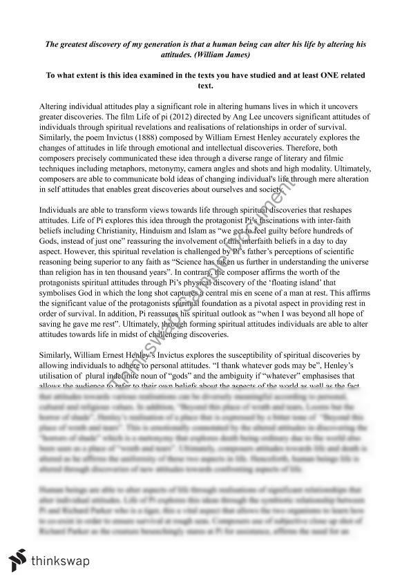 comparison essay topic