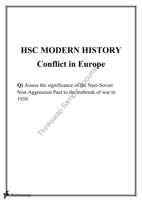 nazi soviet pact essay Learn about and revise the nazi-soviet pact with bbc bitesize gcse history.