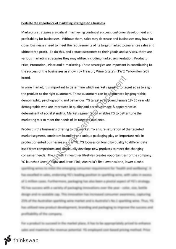 Principles Of Marketing Reflective Essay Thesis - image 4