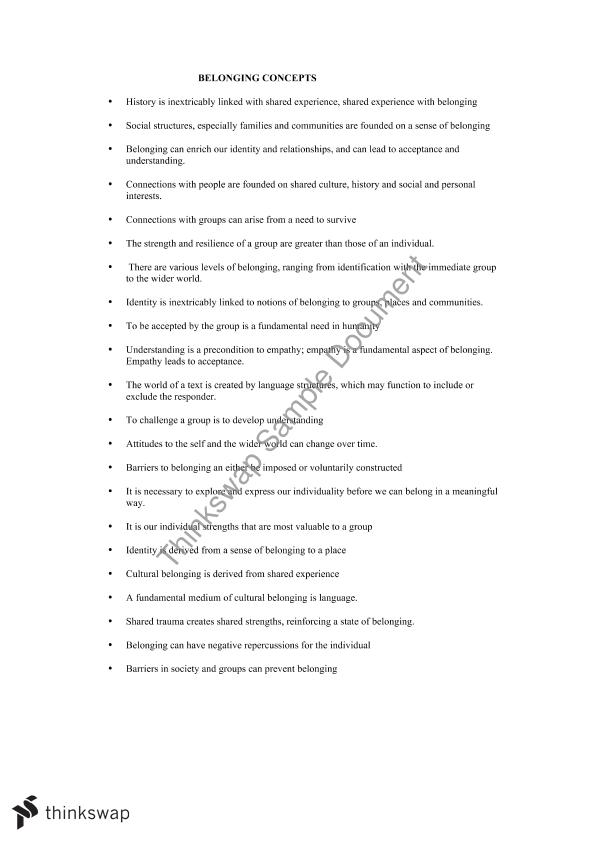 cultural identity thesis statement examples