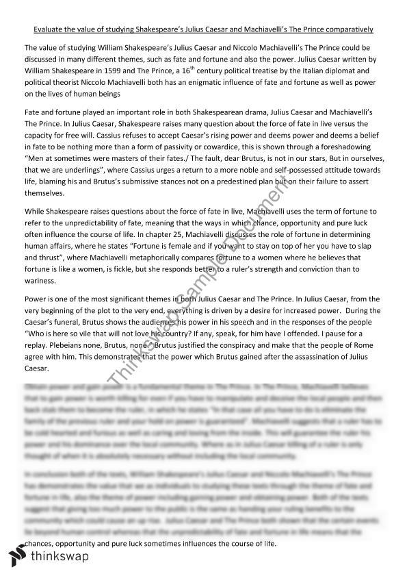 English Essay Julius Caesar | Year 12 HSC - English (Advanced ...