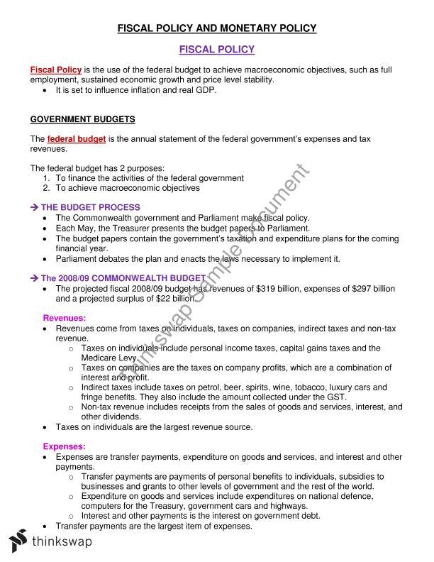macroeconomics for business decisions pdf