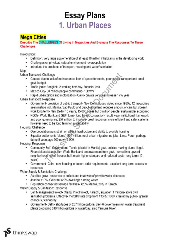 hsc geography essay plans year hsc geography thinkswap hsc geography essay plans