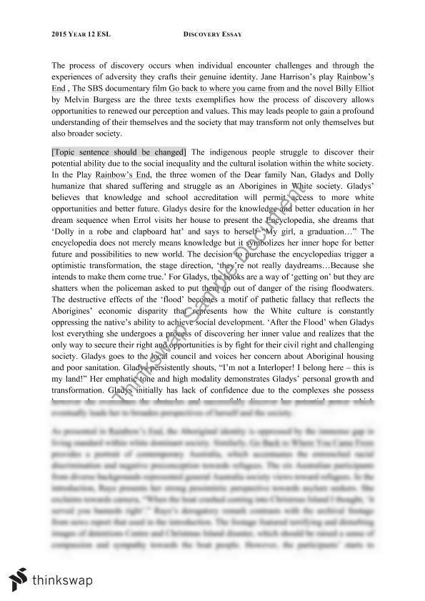 Service learning reflection essay zero