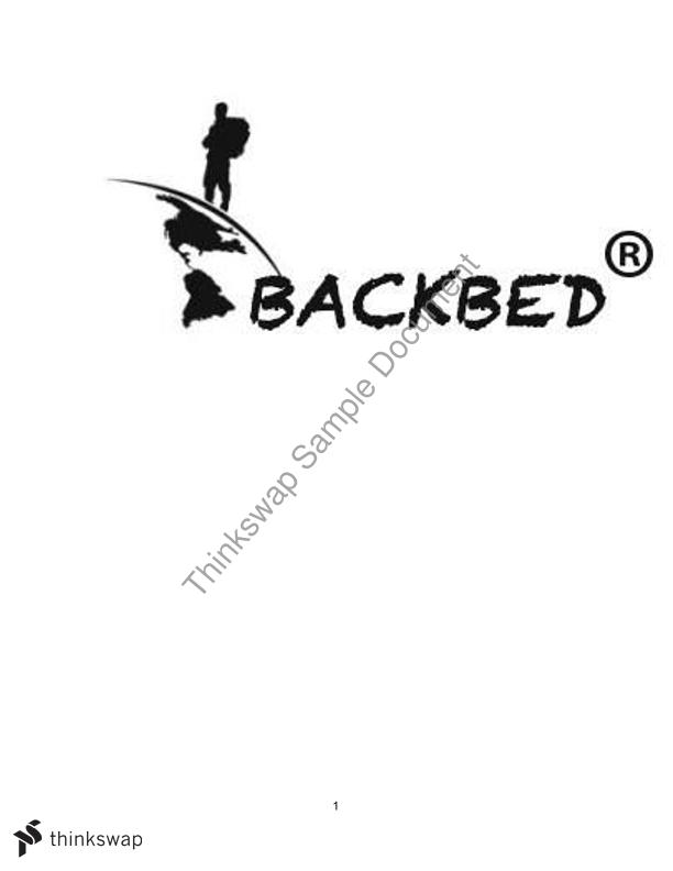 Backbed: Integrated Business Perspectives - Group project