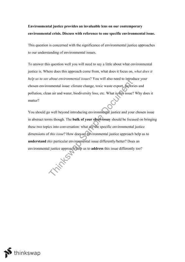 essay questions on environmental science Fifth grade (grade 5) environmental science questions for your custom printable tests and worksheets in a hurry browse our pre-made printable worksheets library with a variety of activities and quizzes for all k-12 levels.