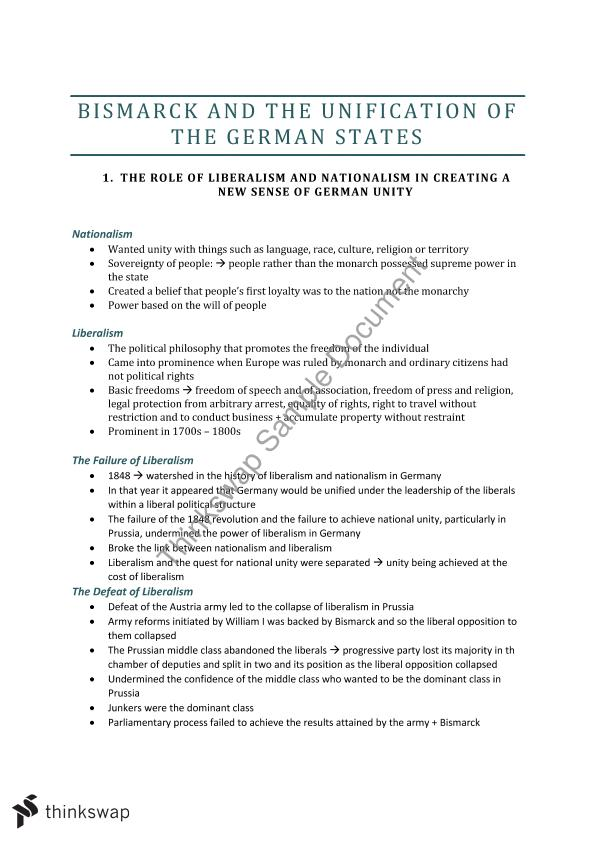 bismarcks foreign policy essay Otto bismarck responsible for the unification of germany history essay has exploited nationalism to help unify germany by adopting an aggressive foreign policy.