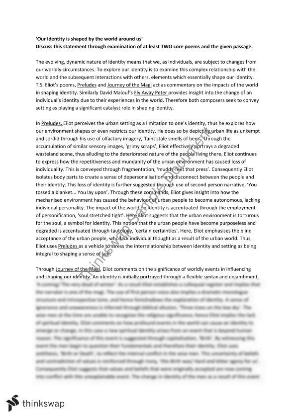 identity essay year hsc english advanced thinkswap identity essay