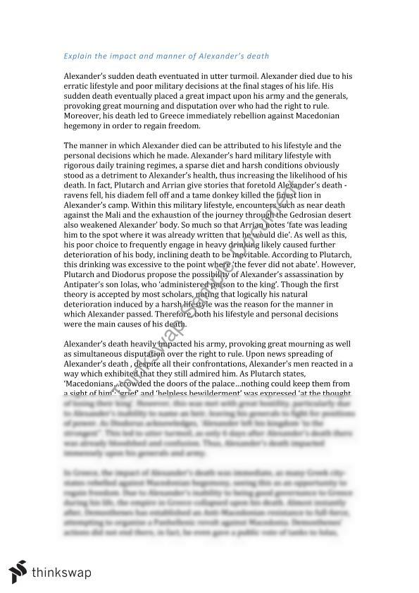 Alexander The Great Facts For Essay - image 5