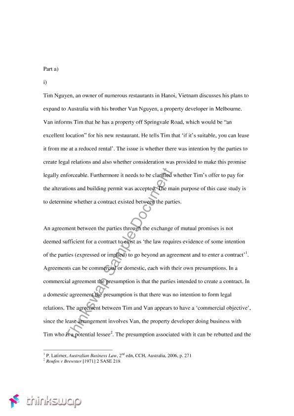 Custom law essay