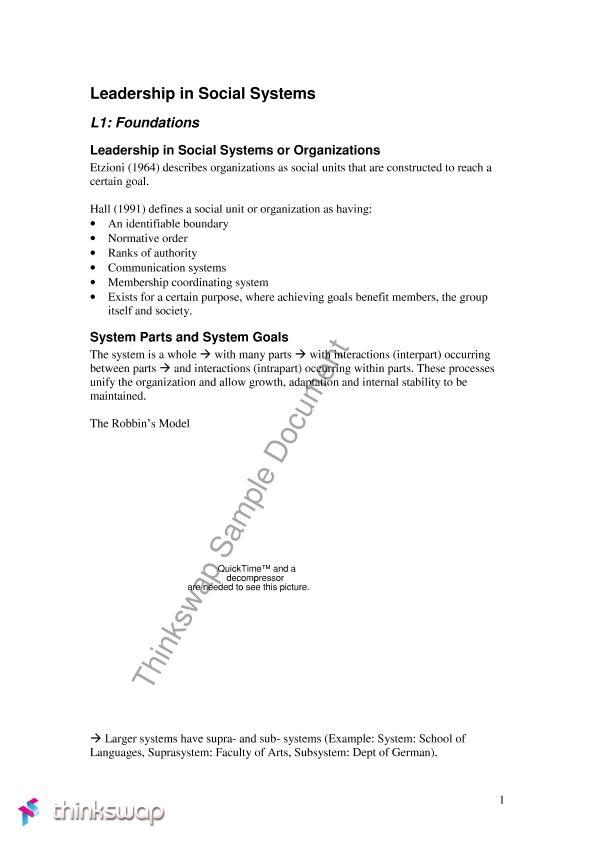 Third Year Social Psych Notes Psyc3017 Social Psychology Thinkswap