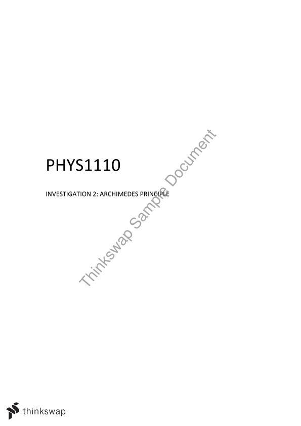 investigation 2 archimedes principle pdf phys 1011