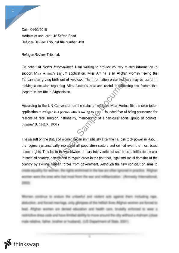 Sample political asylum letter dolapgnetband sample political asylum letter spiritdancerdesigns Gallery