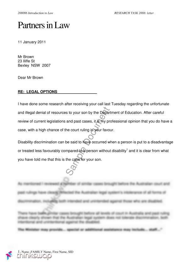 A short two page example of a letter of advice to a client a short two page example of a letter of advice to a client diability thecheapjerseys Gallery