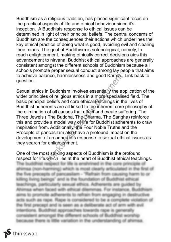 How To Write A Essay For High School  High School Essays also 1984 Essay Thesis Buddhism Essays Computer Science Essays