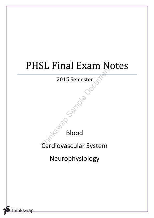 final exam notes Buy torts final exam notes on studentvip notes, australia's largest notes exchange.