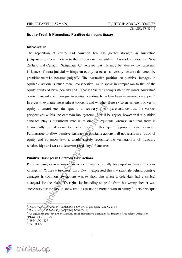 equity and trust essay Brief : 189084 delivery date : 18/08/06 title: there is no single convincing explanation for the operation of the resulting trust discuss answer introduction it is submitted that the resulting trust is a form of implied trust that is created by the inference of the law in circumstances in which the actions of the parties concerned and the characteristics of the transaction between them .