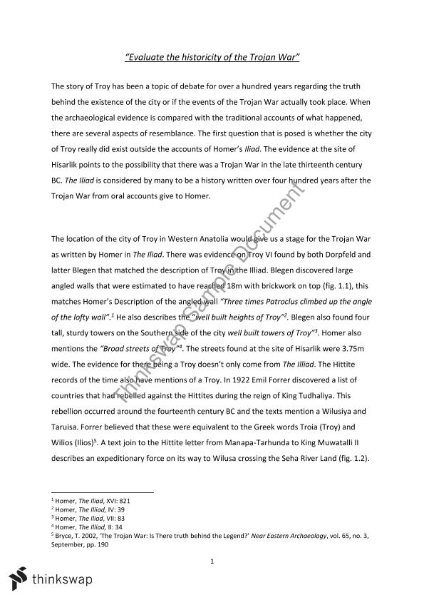 troy fact or fiction essay Essays, trojan war: fact or fiction term papers home » essay » trojan war fact or fiction the war started when king priam of troy told.