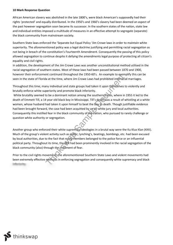 modern history essay on usa civil Essay on modern american history  us authorities were forced to take the civil rights  the united states of america became the dominant power of the world.