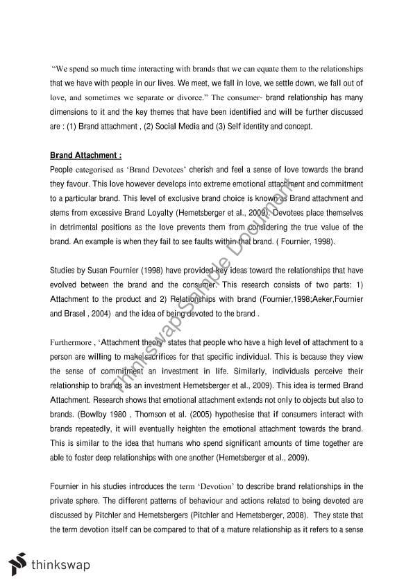 Mktg203 essay