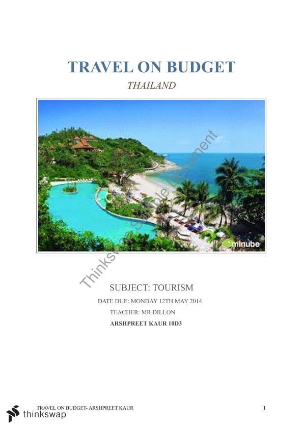 What event management is tourism essay