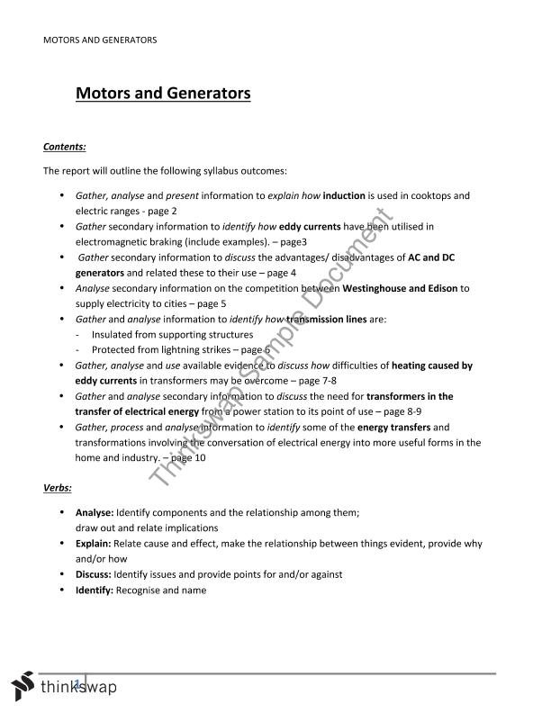 electric power transmission essay