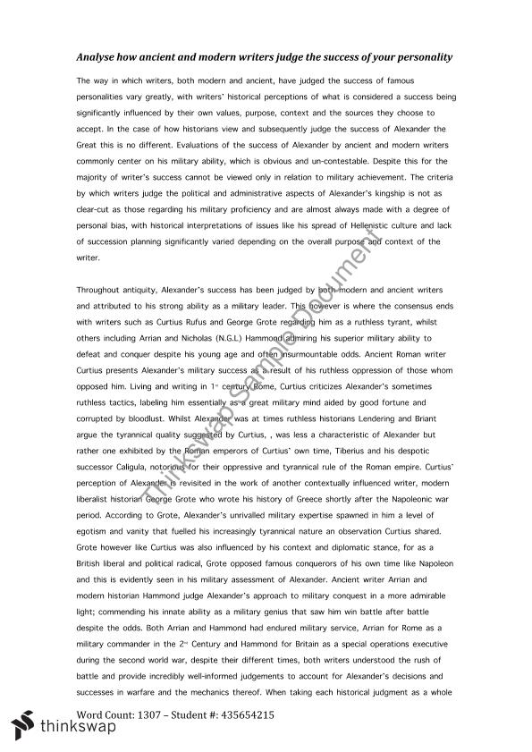alexander the great essay pdf