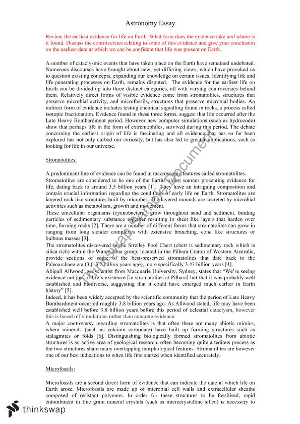 English Literature Essays Astronomy Final Essay For Phys Unsw A Level English Essay also General Essay Topics In English Astronomy Final Essay For Phys Unsw  Phys  Introduction  Example Of Essay With Thesis Statement