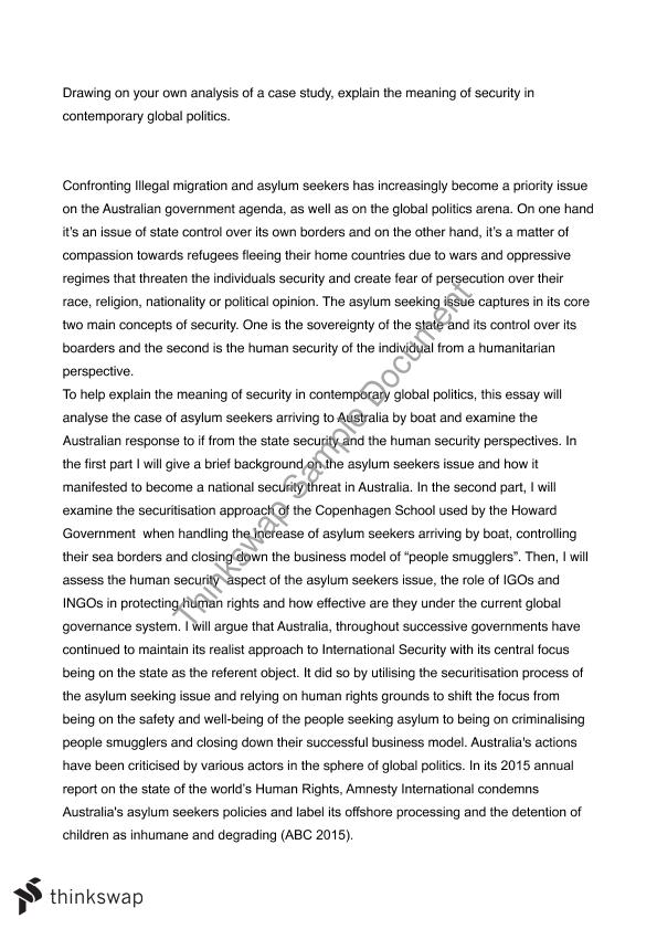 essay on security problems and solutions