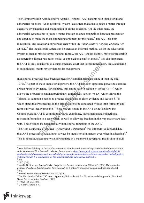 admin law essay