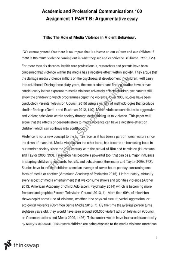 assignment part b argumentative essay apc academic and  assignment 1 part b argumentative essay