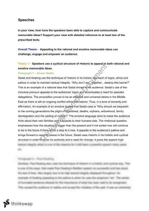 hsc english speeches essay Essay writing guide  english speech: terrorism good  the word terrorism in the english dictionary means violent action for political purposes.