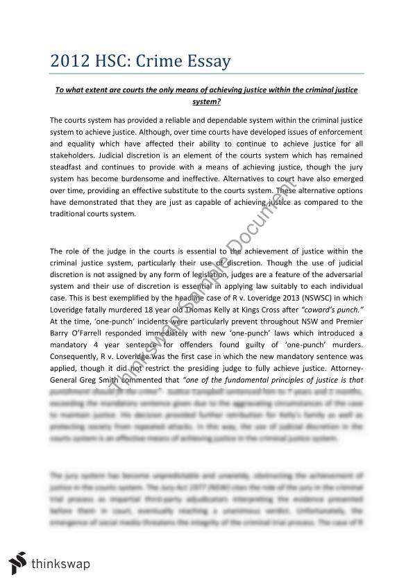 Thesis Statement For Persuasive Essay  Examples Of A Proposal Essay also Reflection Paper Essay Buy Criminal Justice Essay Topics Conscience Essay