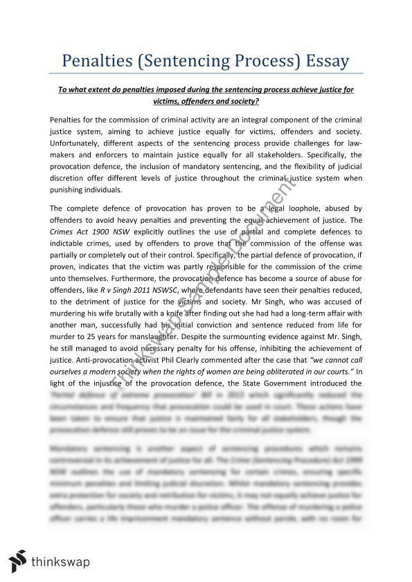 judicial discretion essay